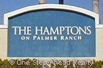 The Hamptons community sign