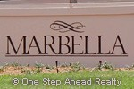 Marbella community sign